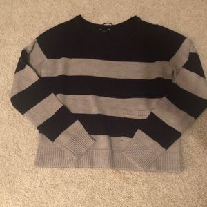 Cropped Stripped Sweater